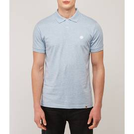 Blue  Marl Polo Shirt