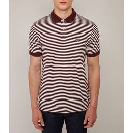 Burgundy  Feeder Polo Shirt