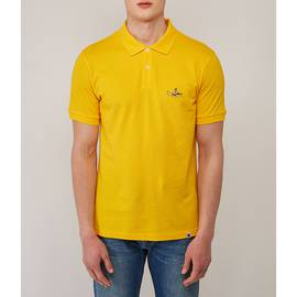 Yellow Beatles Submarine Embroidery Polo