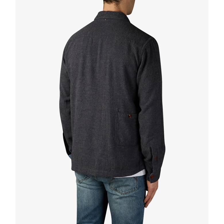 Mens Herringbone Overshirt