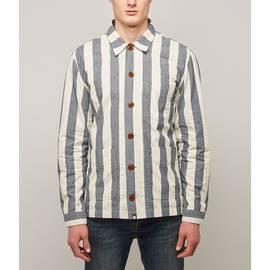 Blue Nautical Stripe Overshirt