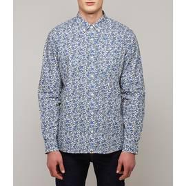 Blue  Classic Fit Liberty Print Shirt
