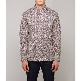 Purple  Classic Fit Liberty Print Shirt