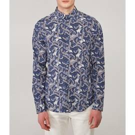 Grey Katie Eary Papilio Print Shirt