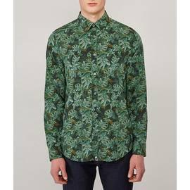 Green Katie Eary Toria Print Shirt