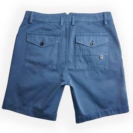 Blue  Cotton City Shorts