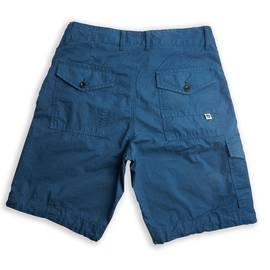 Blue  Multi Pocket Cargo Shorts