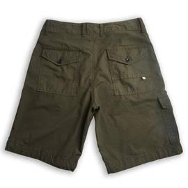 Khaki  Multi Pocket Cargo Shorts