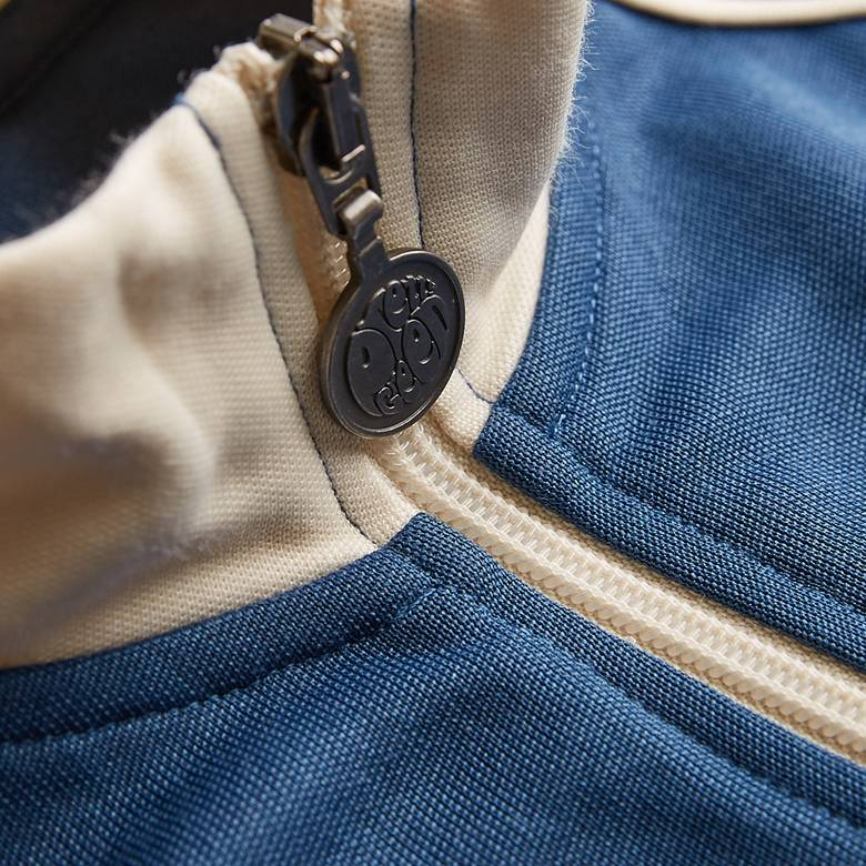 Mens Contrast Piping Track Top