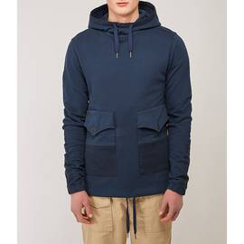 Navy  Overhead Pocket Hoody