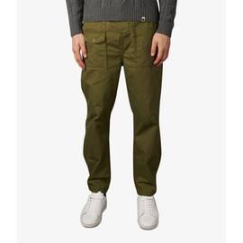 Khaki  Multi Pocket Cargo Trousers