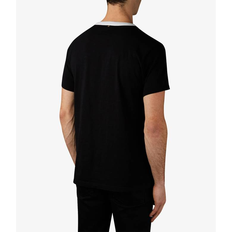 Mens Medium Wave Print T-Shirt