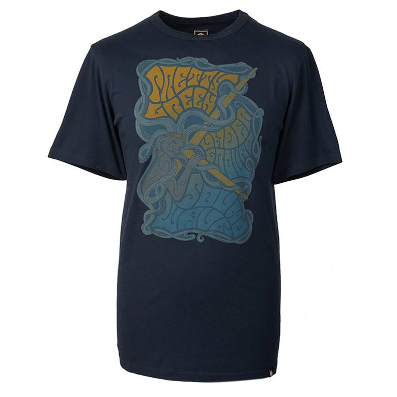 Mens Pretty Green Print T-Shirt