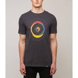 Grey  Vinyl Print T-Shirt