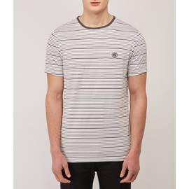 Grey  Striped T-Shirt