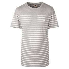 Grey Breton Stripe T-Shirt ...