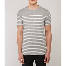 Grey Breton Stripe T-Shirt