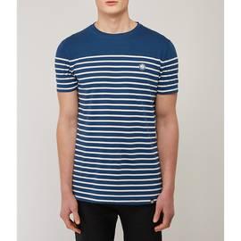 Navy Breton Stripe T-Shirt
