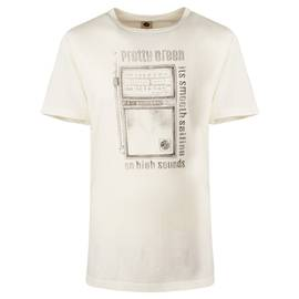 graphic t-shirt in off white - White Pretty Green Discount In China q499xE