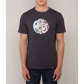 Black  3D Print Logo T-Shirt