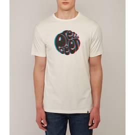 White  3D Print Logo T-Shirt