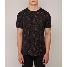 Black Spot Print T-Shirt