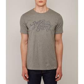 Grey  Pretty Green Print T-Shirt