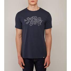 Navy  Pretty Green Print T-Shirt