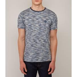 Navy  Space Dye T-Shirt