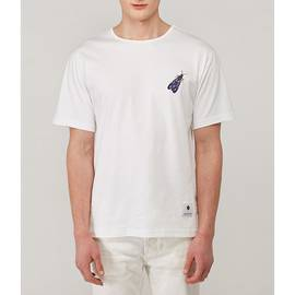 White  Papilio Embroidered T Shirt