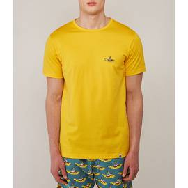 Yellow Beatles Submarine Embroidery T-Shirt