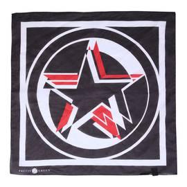 f066fc76a51d2 Black Star Print Bandana