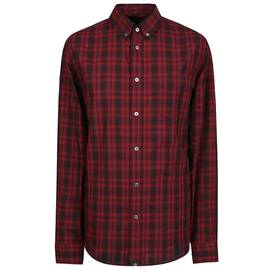 1083eea4103 Red Long Sleeve Check Shirt