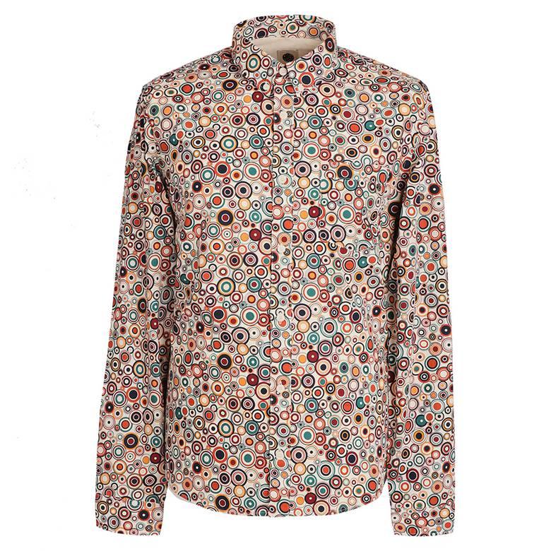 8f71d8f7b142b Slim Fit Target Print Shirt | Pretty Green | Online Shop