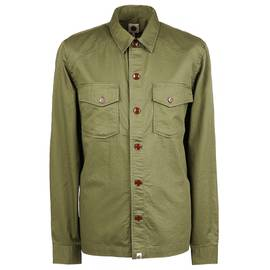 b58fac4a5f6 Green Military Overshirt