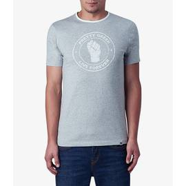 Grey Marl Live Forever T-Shirt