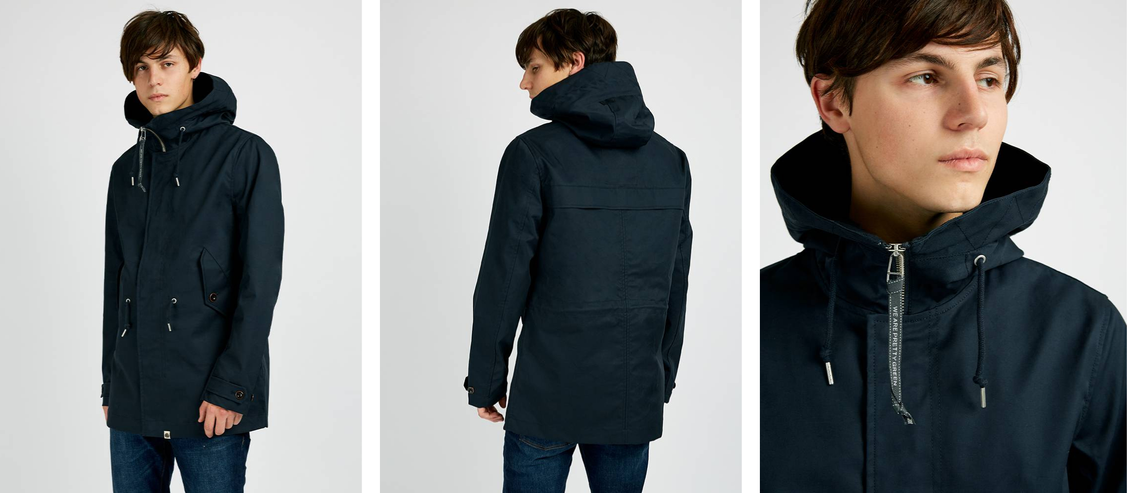 https://www.prettygreen.com/products/mens-bonded-cotton-hooded-parka-2632/?color=navy&size=xs&utm_medium=Organic&utm_source=Newsletter&utm_campaign=Outerwear