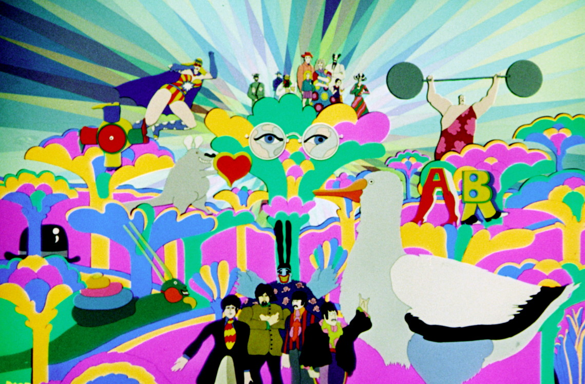 10 Mind-Bending Facts About Yellow Submarine | Pretty Green