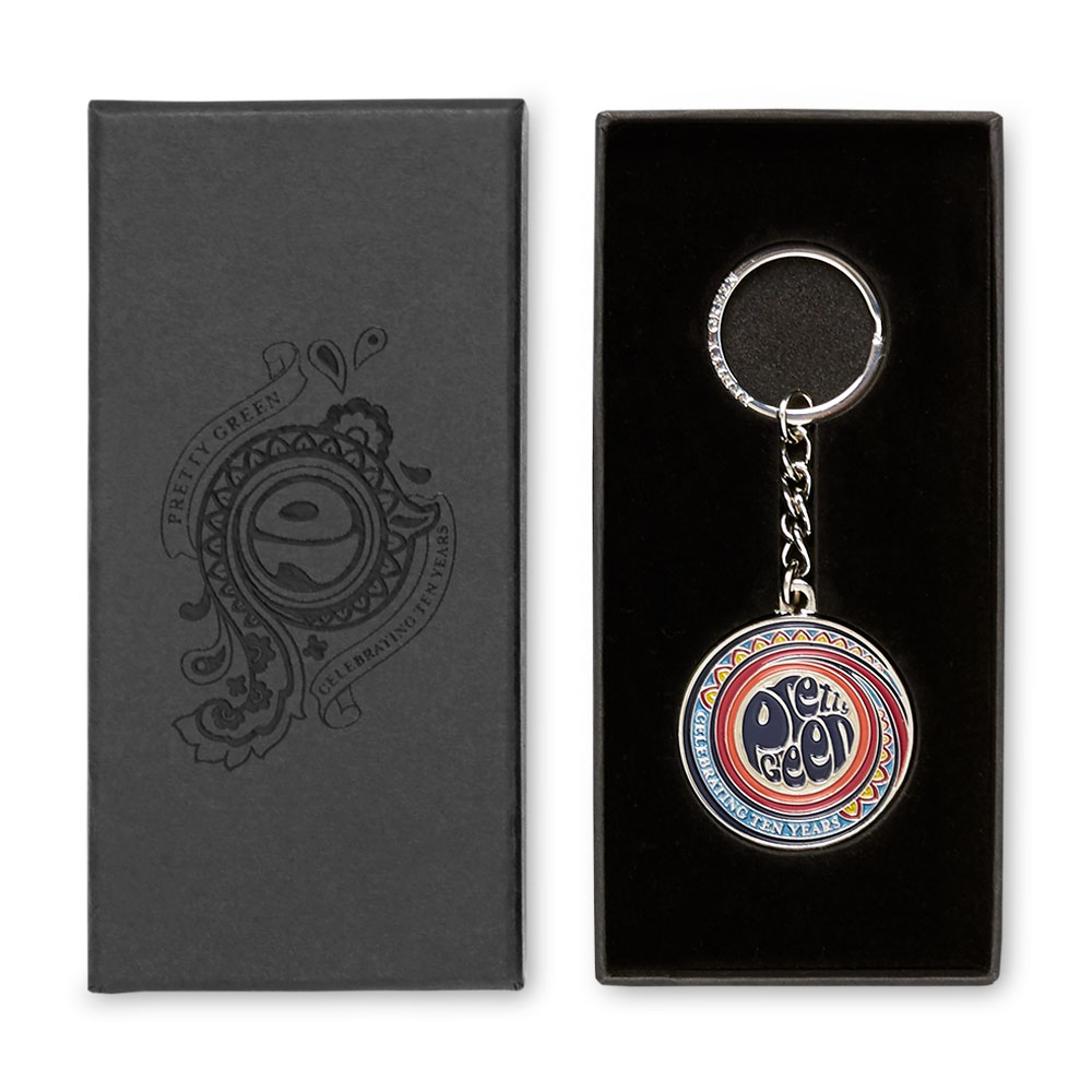 10th Anniversary Keyring (Multi-Colour, One Size, Trinkets)