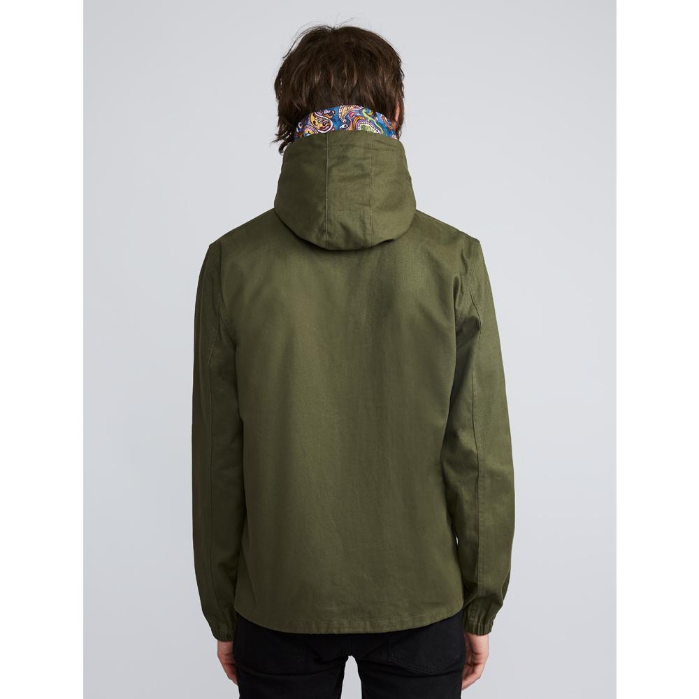 e90b92f9486 Cotton Zip Up Hooded Jacket