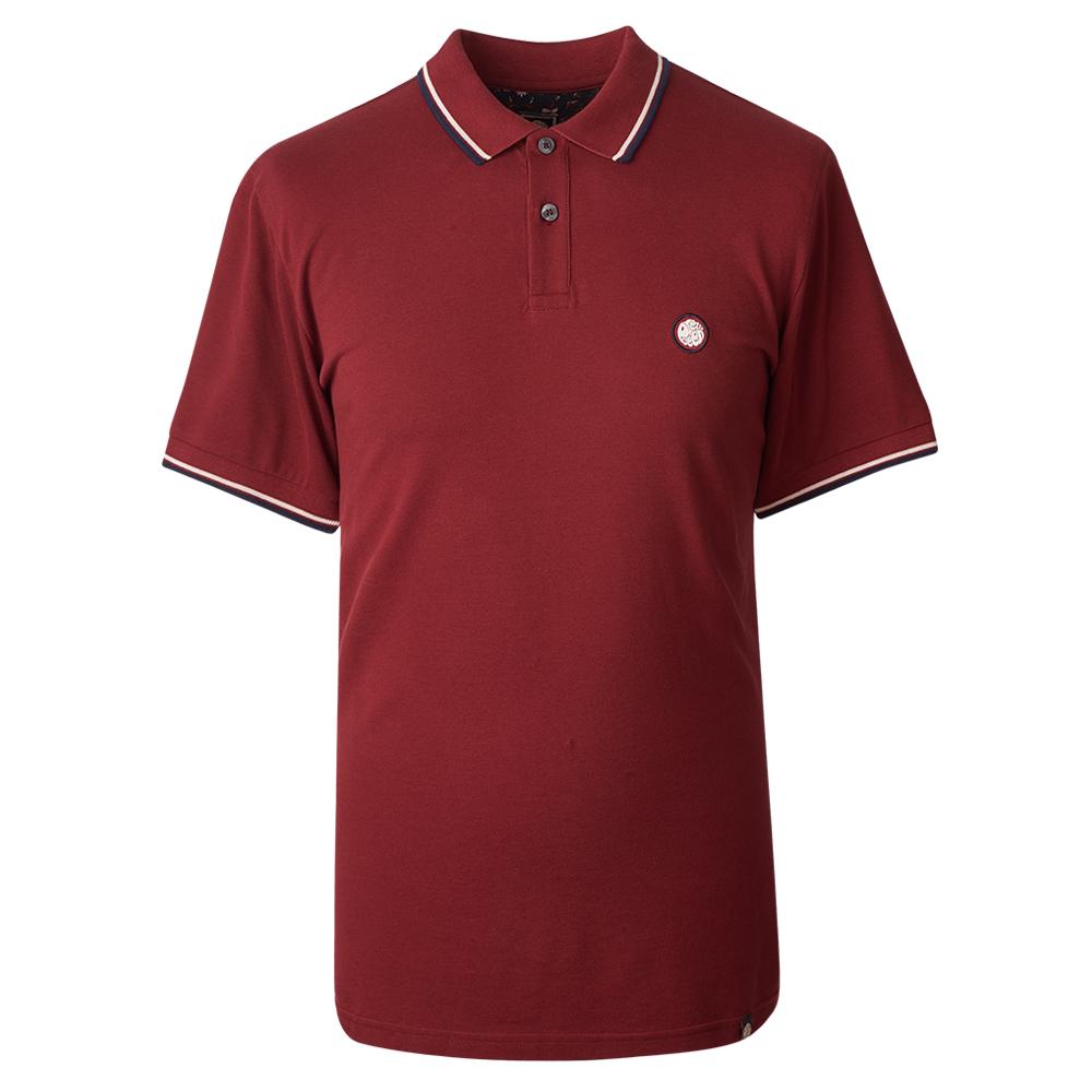 ffd49f03cddf87 Tipped Pique Polo Shirt | Pretty Green | Online Shop